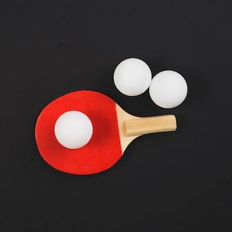 Современная композиция оборудования для пинг-понга