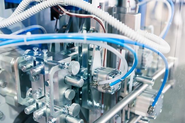 Современный пневматический механический инструмент крупным планом