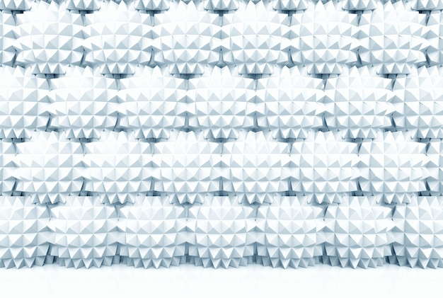 Modern polygon sphere stack wall background.