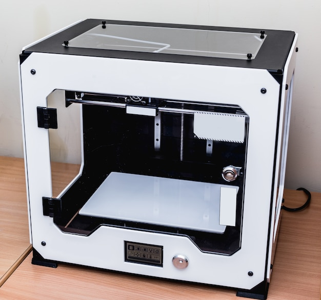 Modern professional plastic 3d printer