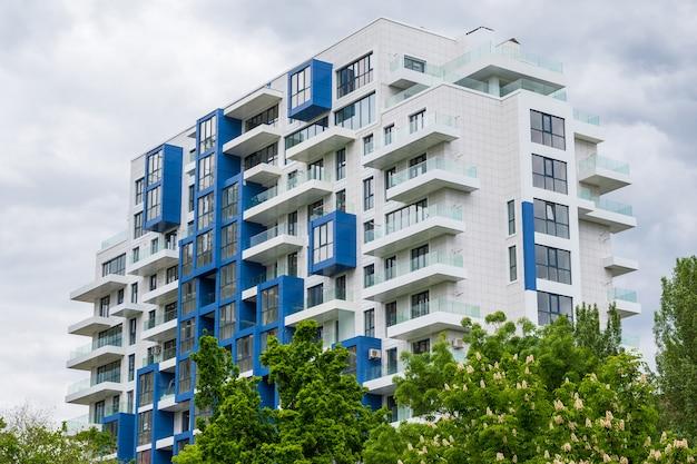 Moderno edificio residenziale
