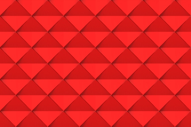 Modern seamless red square grid art tile background