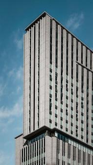 ビジネス地区の近代的な高層ビル