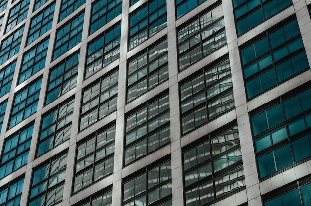 Moderni grattacieli nel quartiere degli affari del giappone