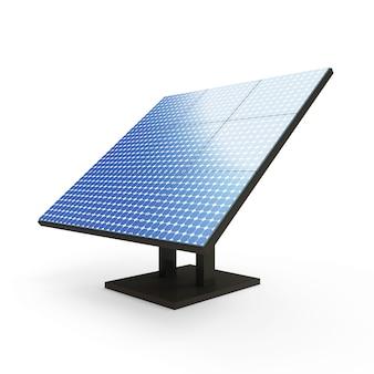 現代の太陽電池パネル