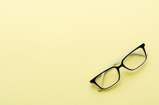 分離された現代の眼鏡眼鏡