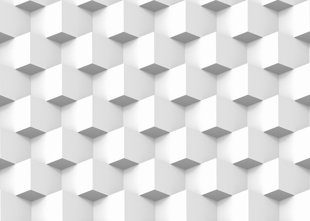 Modern square box grid stack pattern wall design background.
