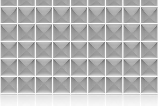 현대 사각형 큐브 상자 스택 벽 배경입니다.