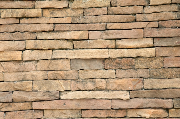 Современная каменная кирпичная стена фон