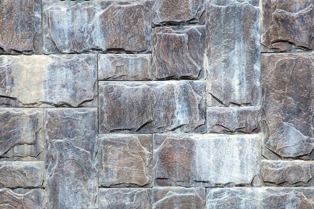 現代の石の壁