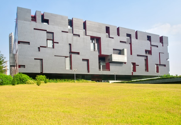 현대적인 스타일의 건물
