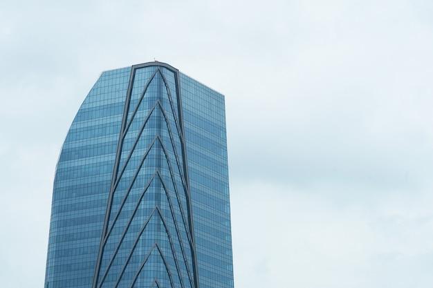 Modern style high sky building on clear sky
