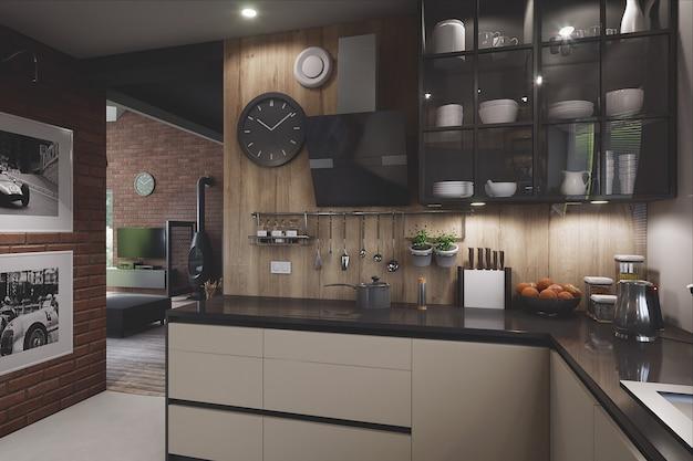 Modern & stylish kitchen