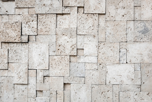 Современная стильная квадратная каменная поверхность