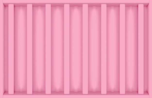 Modern sweet pink vertical bar design wall background.