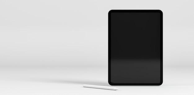 Modern tablet showcase