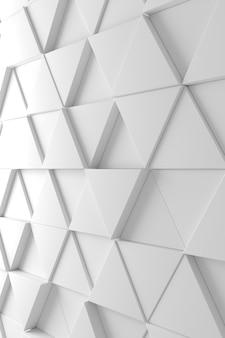Modern tile wall 3d rendering