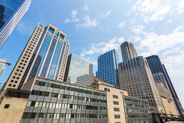 현대 도시 비즈니스 센터입니다.