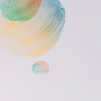Modern watercolor background with abstract design