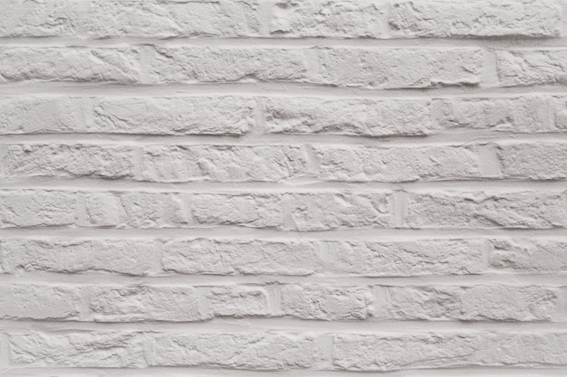 Modern white brick wall texture as a background