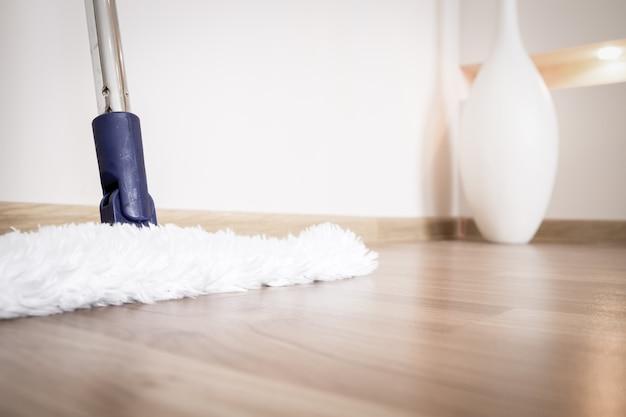 Modern white mop