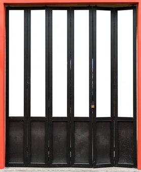 Modern wooden folding door