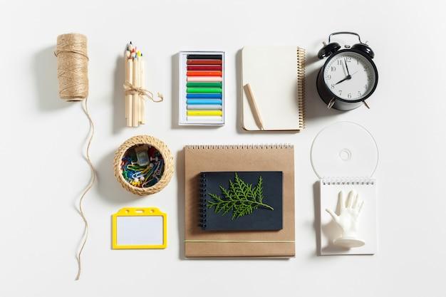 Modern work space of artist