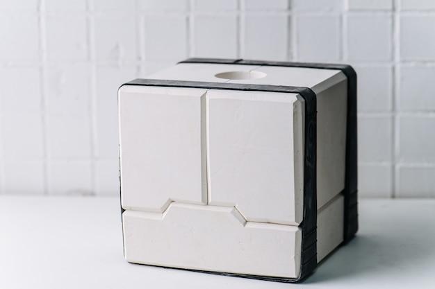 食器を作るためのモジュラー石膏石膏型