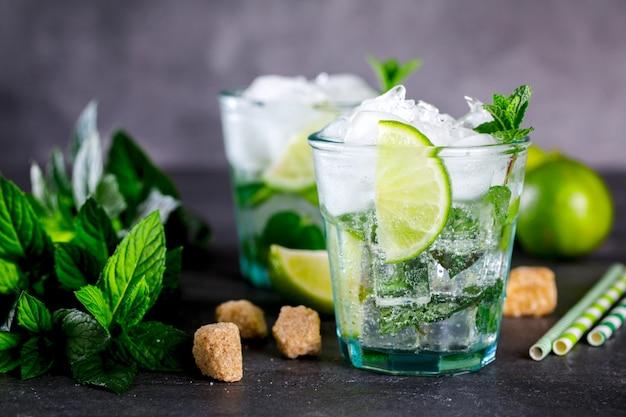 Mojito cocktail.cold drink.