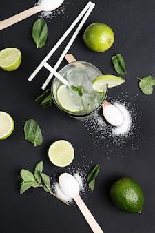Bevanda e ingredienti mojito