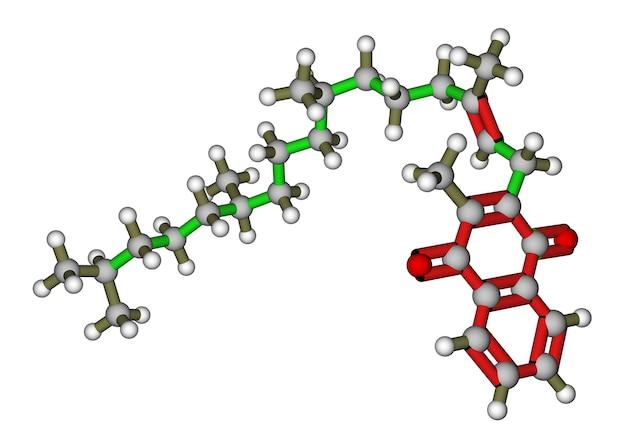 ビタミンkフィロキノンの分子構造
