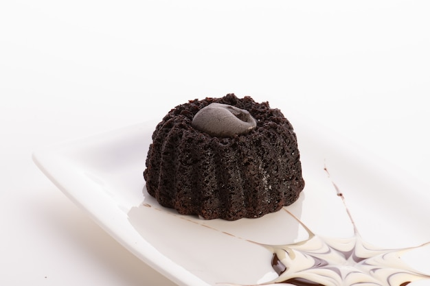 Шоколадный торт molten velvet
