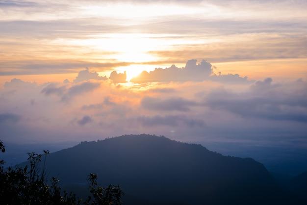 Mon sone view point, doi pha hom pok national park
