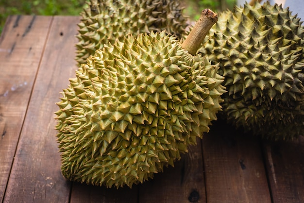 Mon thong durian fruit from thailand