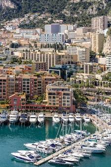 Монако fontvieille городской пейзаж