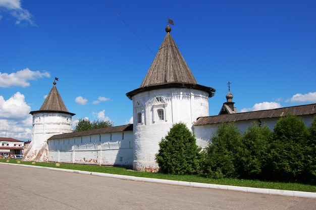 Monastery in the ancient city of yuryev-polsky. russia