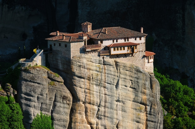 ギリシャのメテオラにあるrousanou修道院