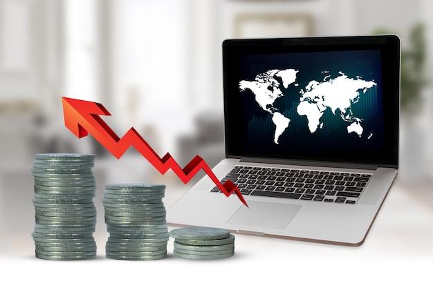 Денежный рост в креативном имидже финансовой экономики