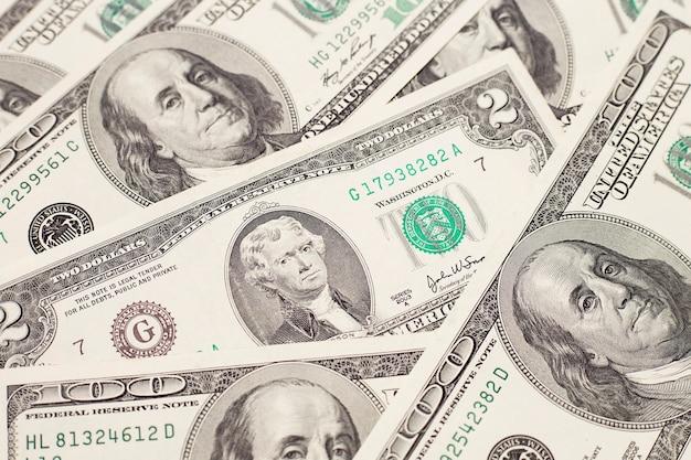 달러 지폐의 돈 추상적인 배경