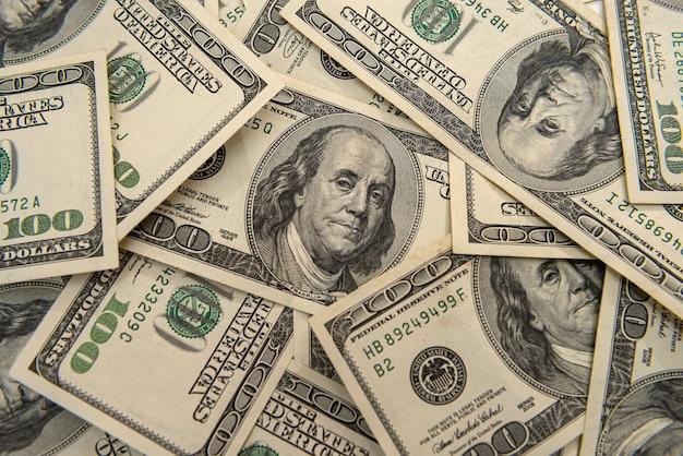Money background, us dollar bills