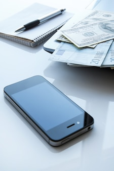 Money and electronic devices