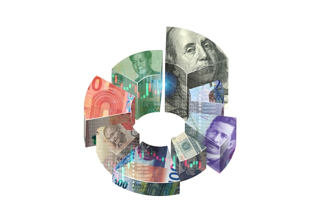 Money exchange concept