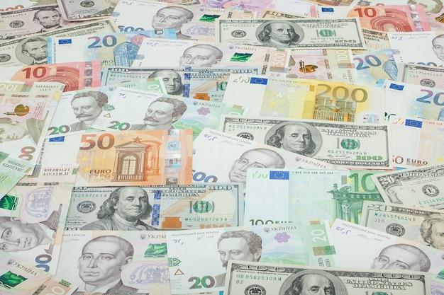 Money and finances concept.