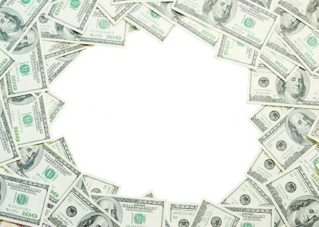 Money frame background