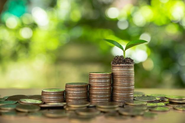 Money growth saving money.