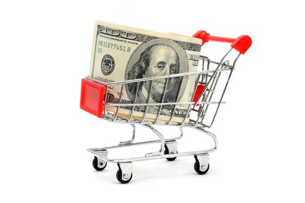 Money shopping