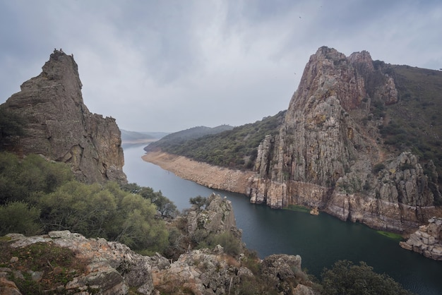 Monfrague national park in caceres, extremadura, spain.