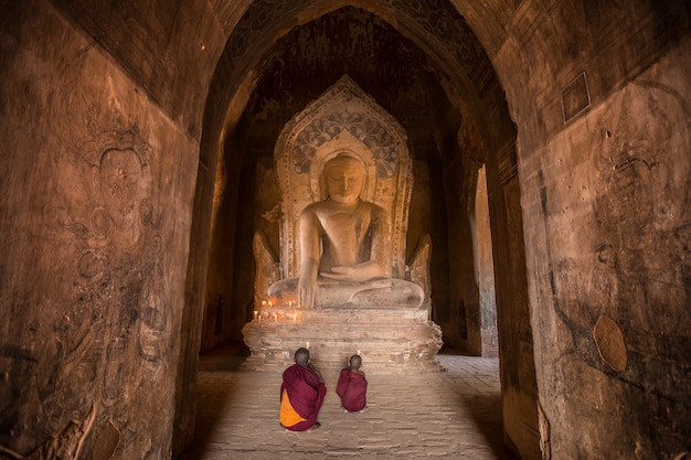 Monk of bagan myanmar
