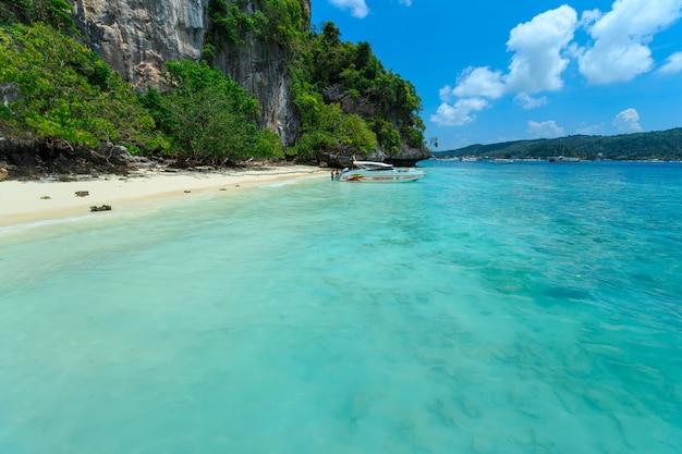 Monkey beach, phi phi islands, thailand