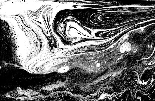 モノクロの抽象的なパターンの背景